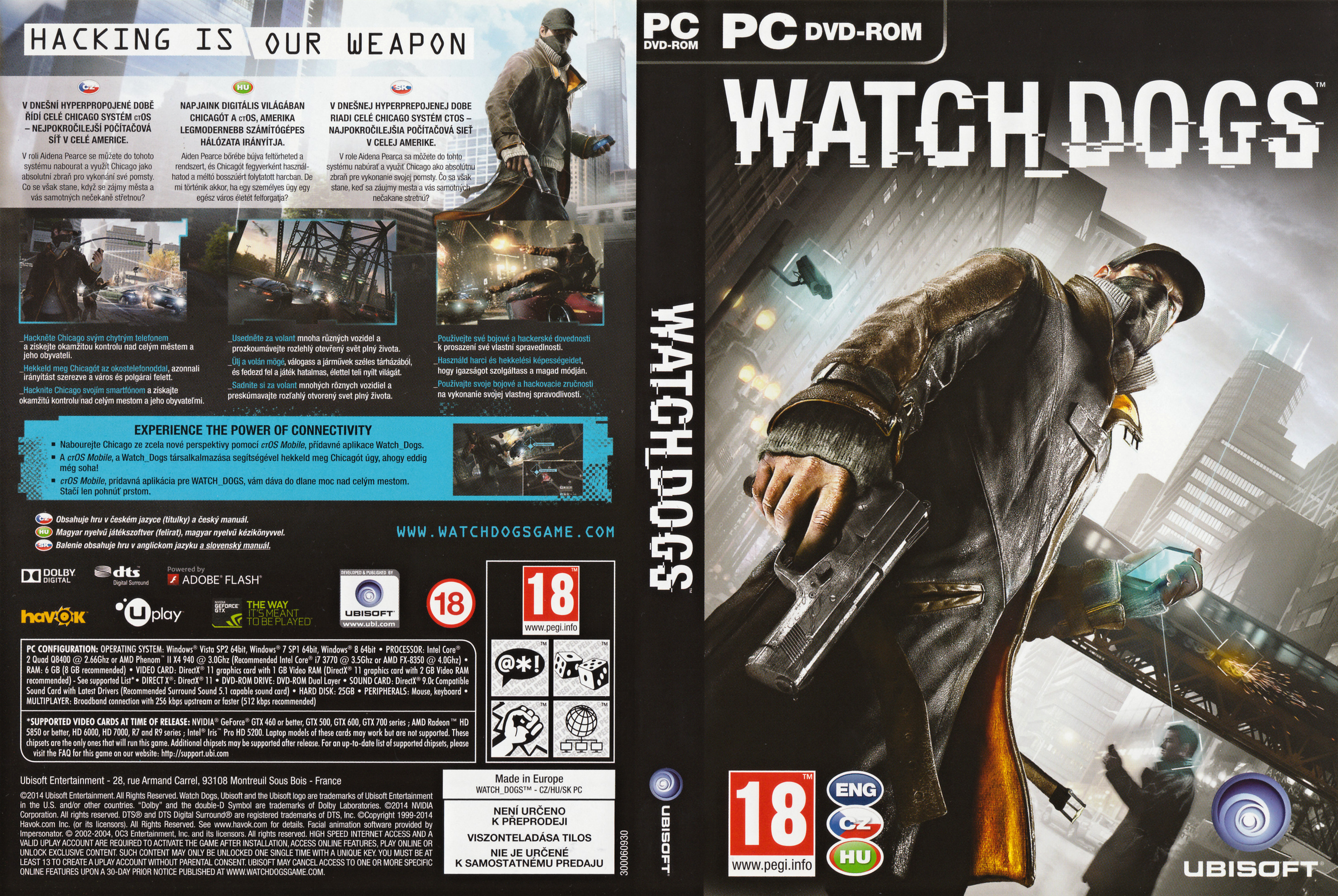 Watch Dogs Gold Edition (All DLC) | [RUS / RUS / ENG] (2014)|(1.06.329)