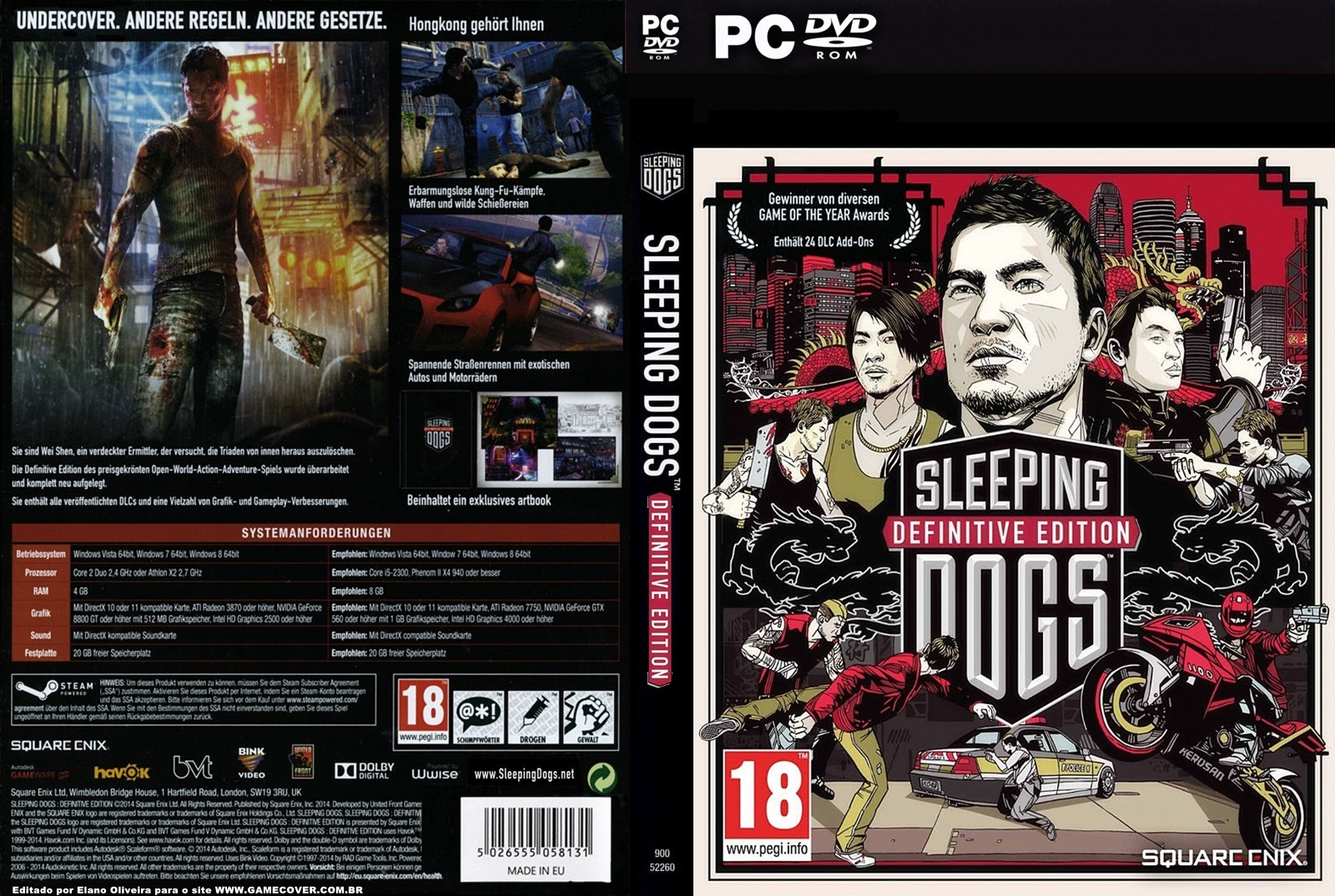 Sleeping Dogs Definitive Edition Zawrotna Pr Ef Bf Bddko